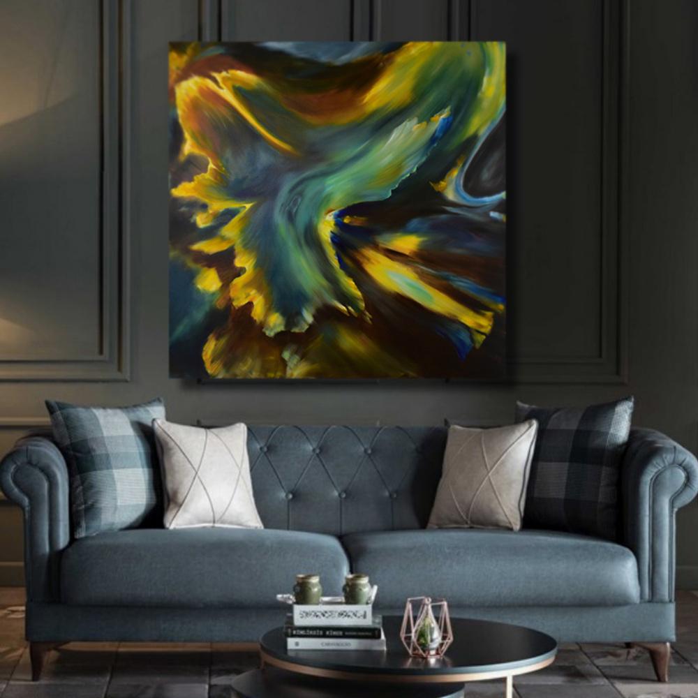PERSEVERANCE - original oil painting