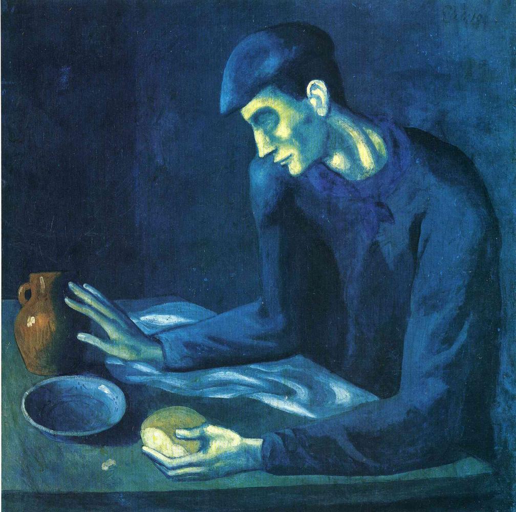 Пабло Пикассо. Завтрак слепого
