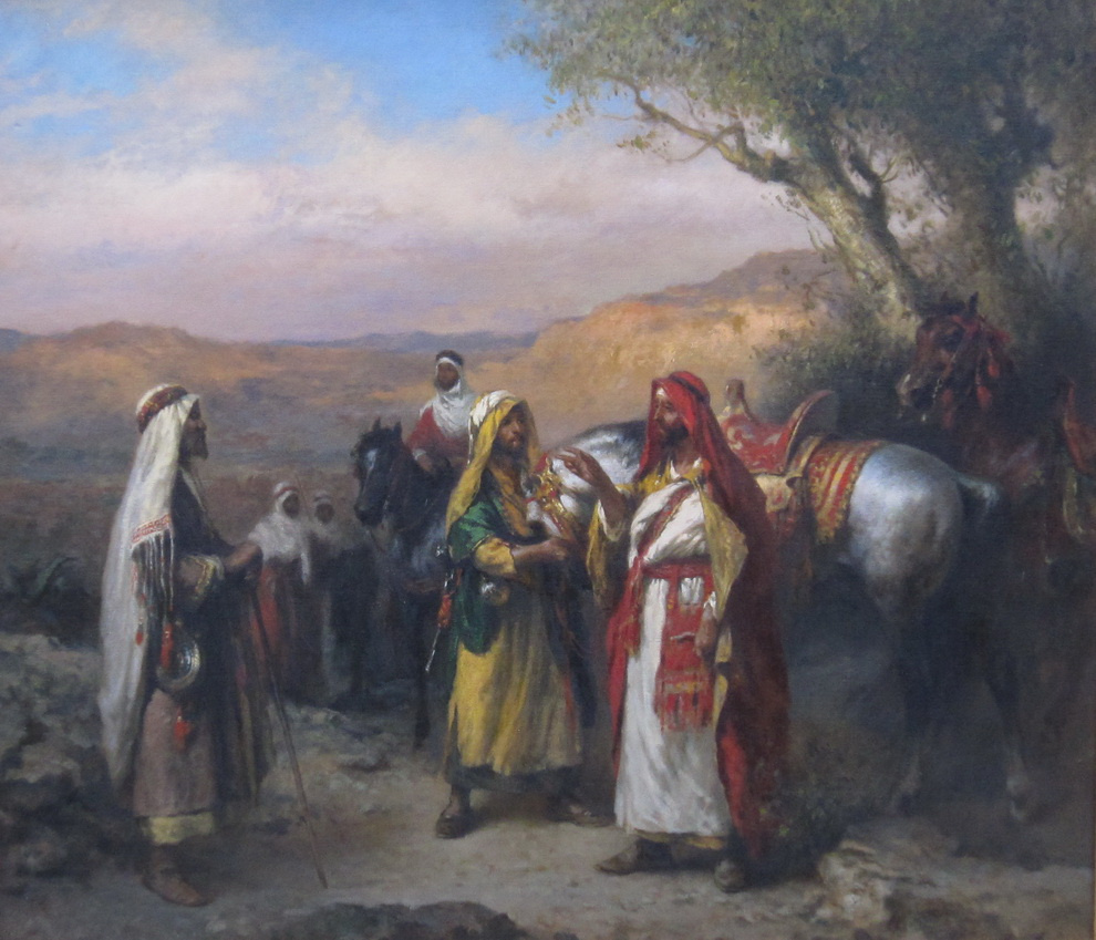 Владимир ПОРЕЦКОВ. Арабские всадники