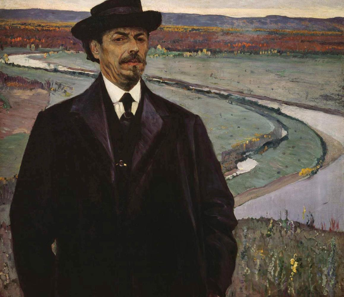 Михаил Васильевич Нестеров. Автопортрет