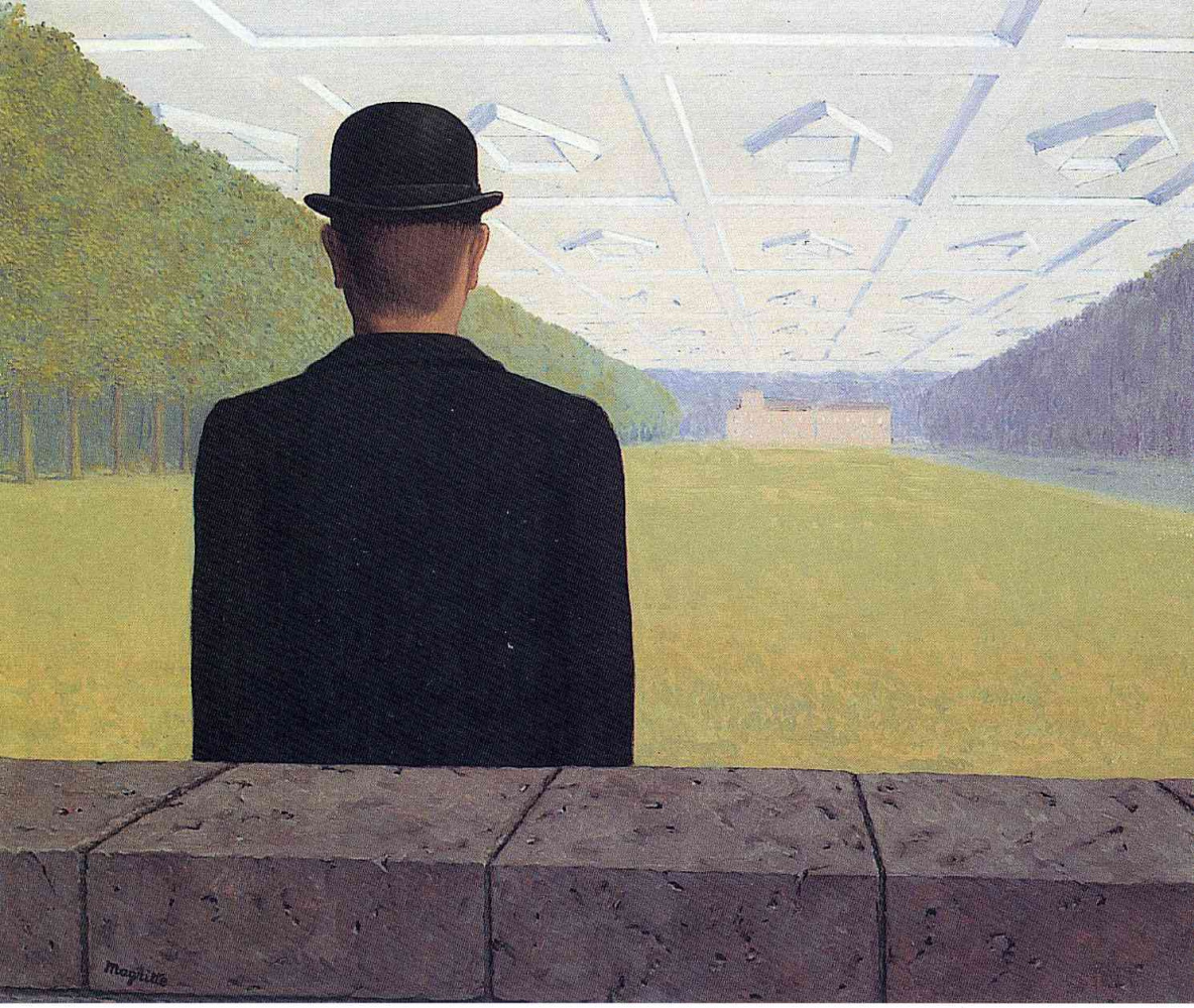 René Magritte. Great age