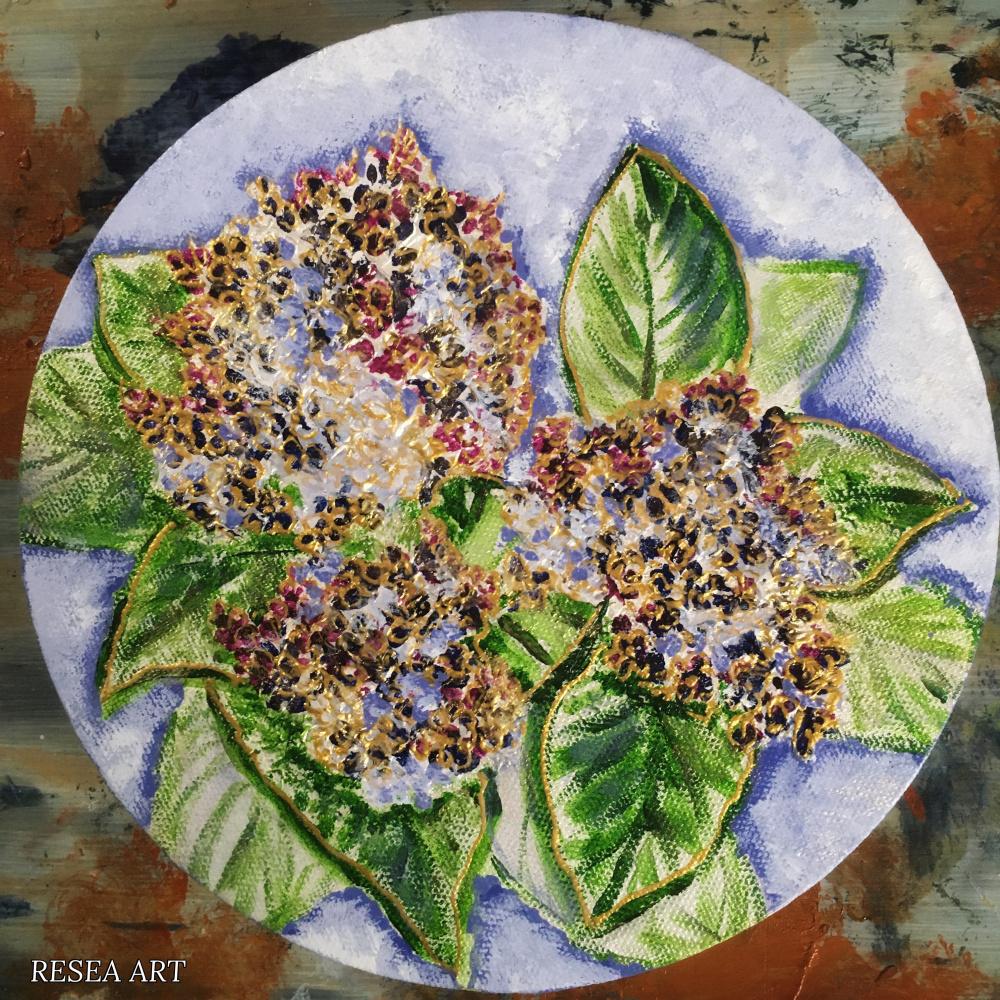 RESEA .. Lilac brush Etude No. 2