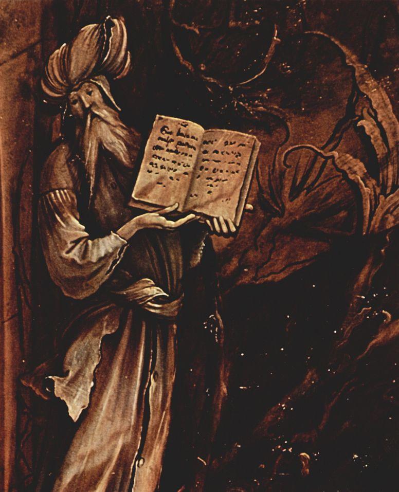 Маттиас Грюневальд. Пророк. Изенгеймский алтарь