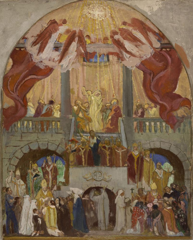 Морис Дени. Эскиз для церкви Святого Духа