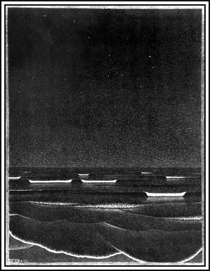 Мауриц Корнелис Эшер. Флуоресцентное море