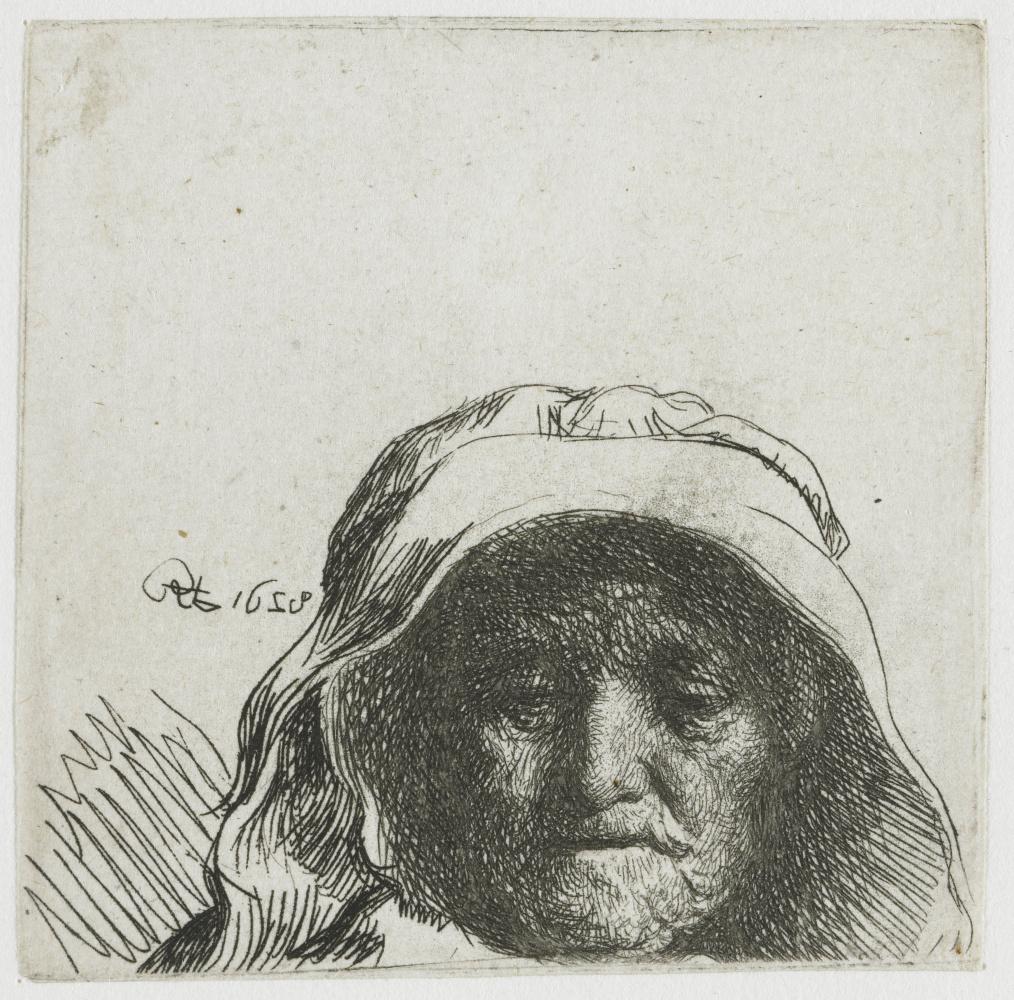 Rembrandt Harmenszoon van Rijn. Portrait of a mother