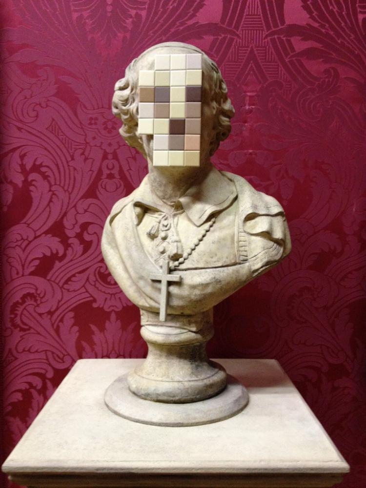 Banksy. The Deadly Sin (Cardinal Sin)
