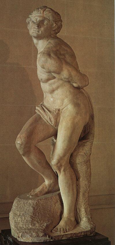 Микеланджело Буонарроти. Умирающий раб