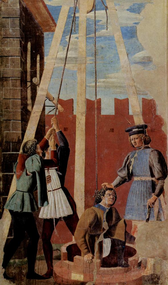 Пьеро делла Франческа. Пытка Иуды