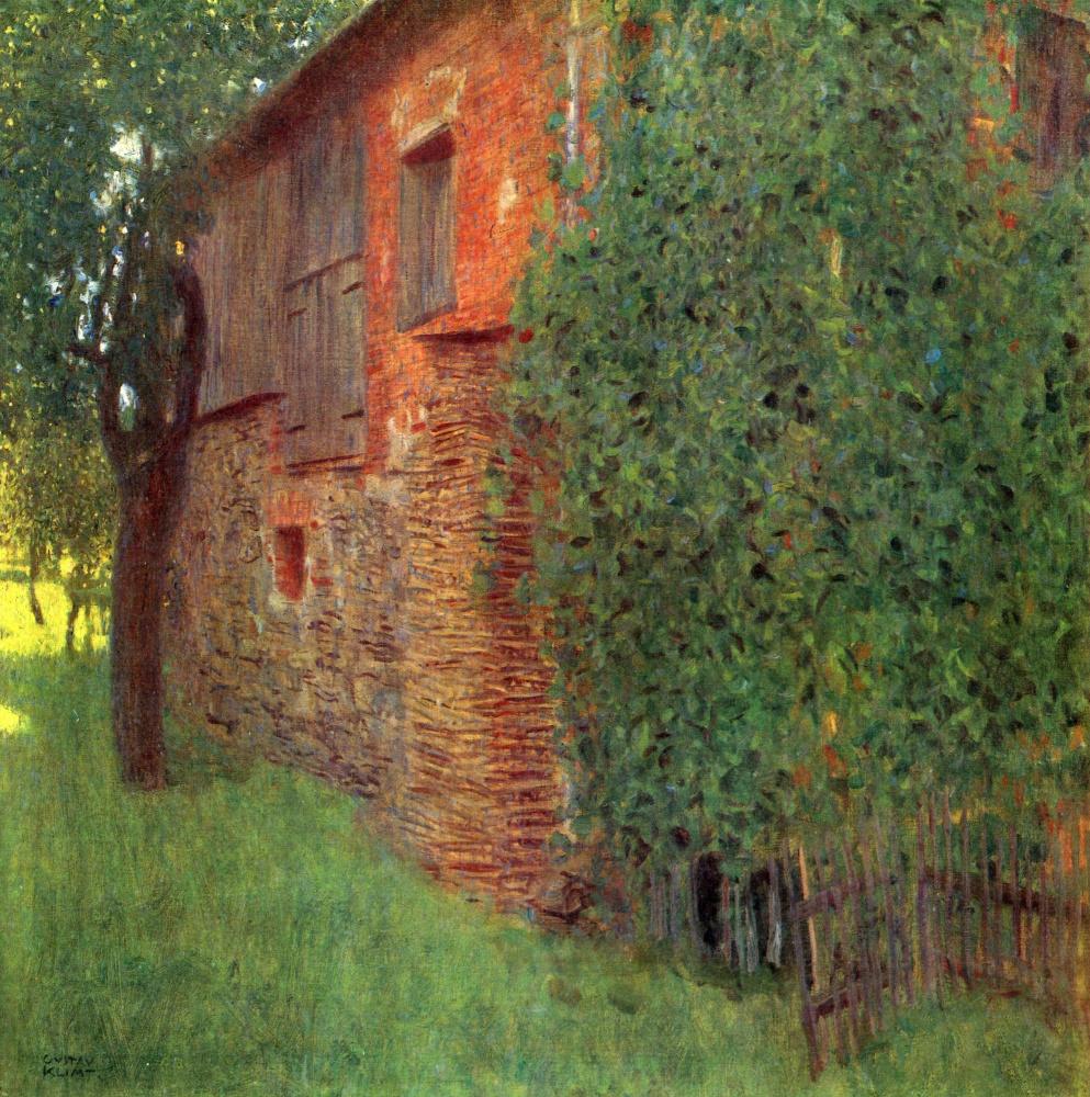 Густав Климт. Дом в Каммере на озере Аттерзее (Мельница)