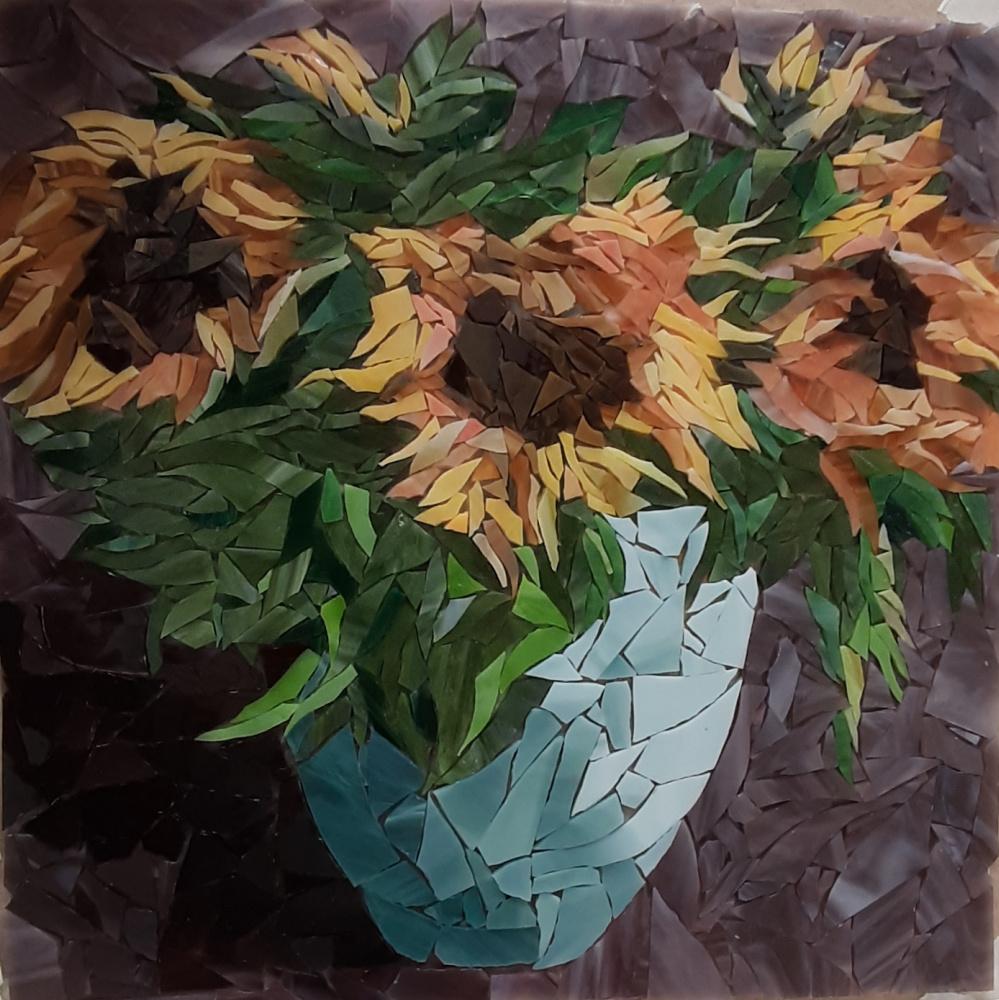 "Ekaterina Sergeevna Shevchenko. ""Sunflowers"""