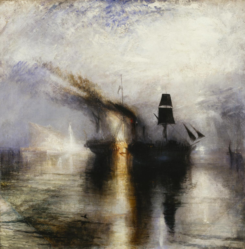 Джозеф Мэллорд Уильям Тёрнер. Вечный покой. Похороны в море