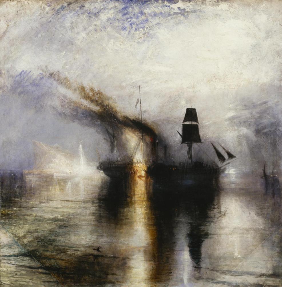 Joseph Mallord William Turner. Eternal rest. Buried at sea