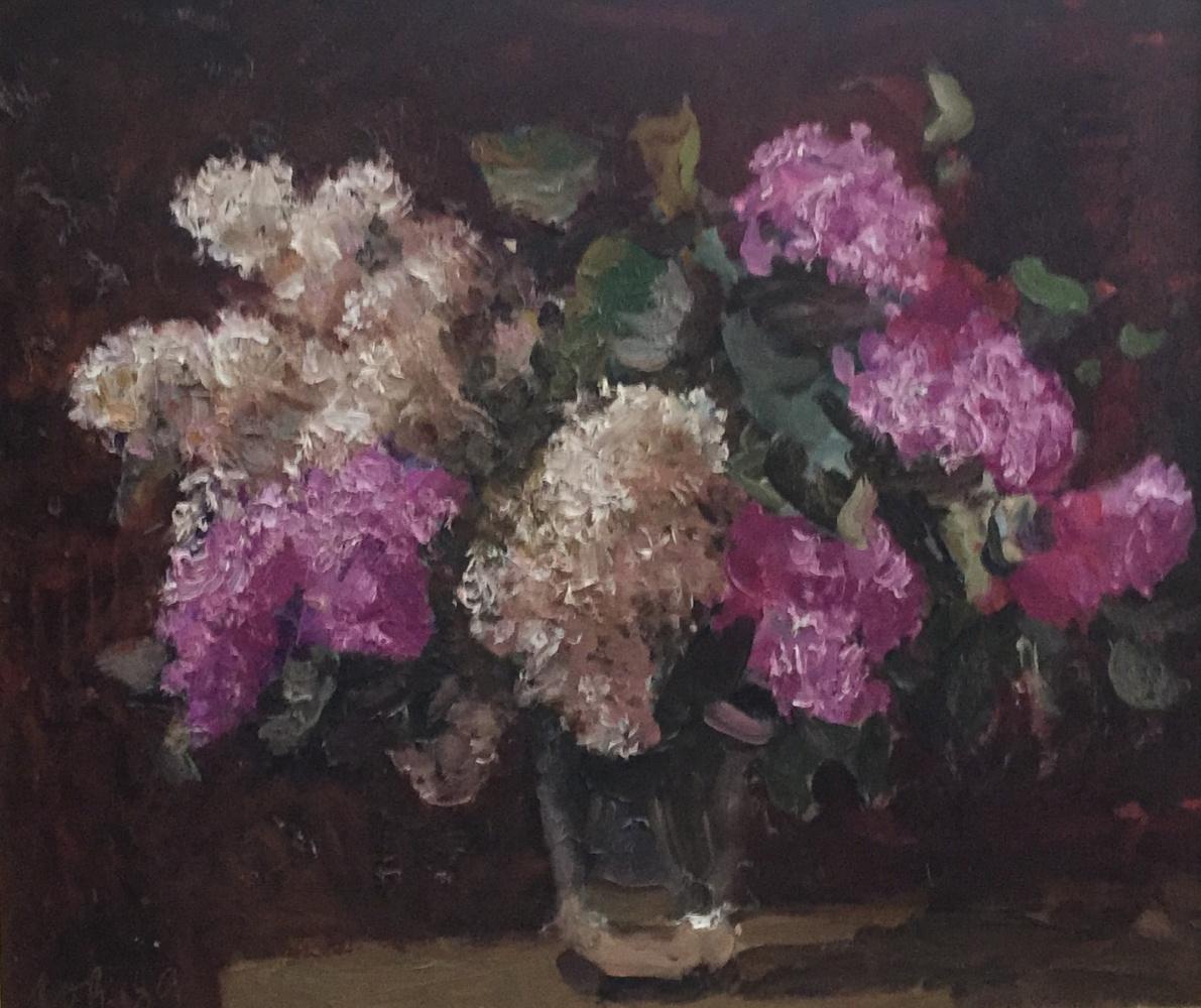 Yuri Aleksandrovich Volkov. Lilac, 1987