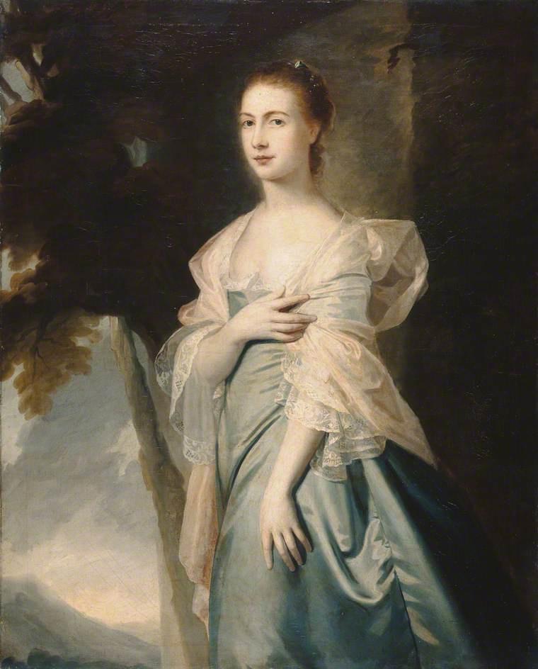 George Romney. Mrs. Margaret Ainsley