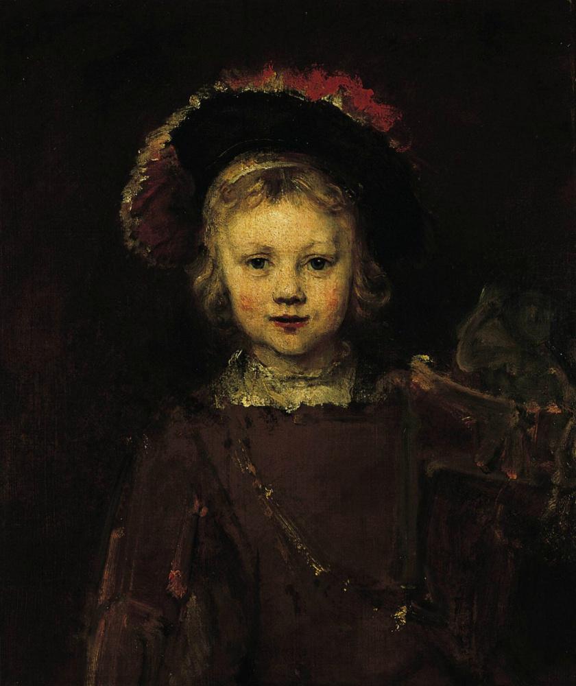 Rembrandt Harmenszoon van Rijn. Portrait of a boy