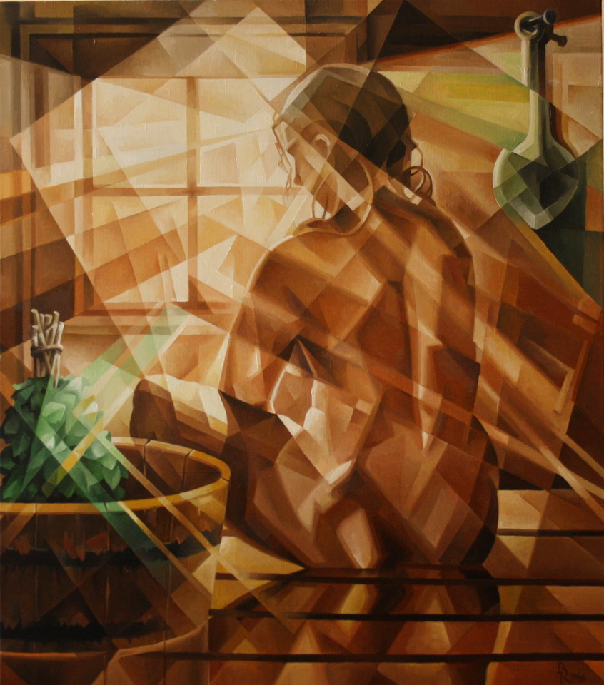 Vasily Krotkov. Ondine. Kubofuturizm. 2016