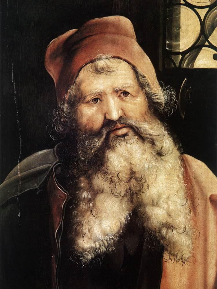 Маттиас Грюневальд. Антоний Великий