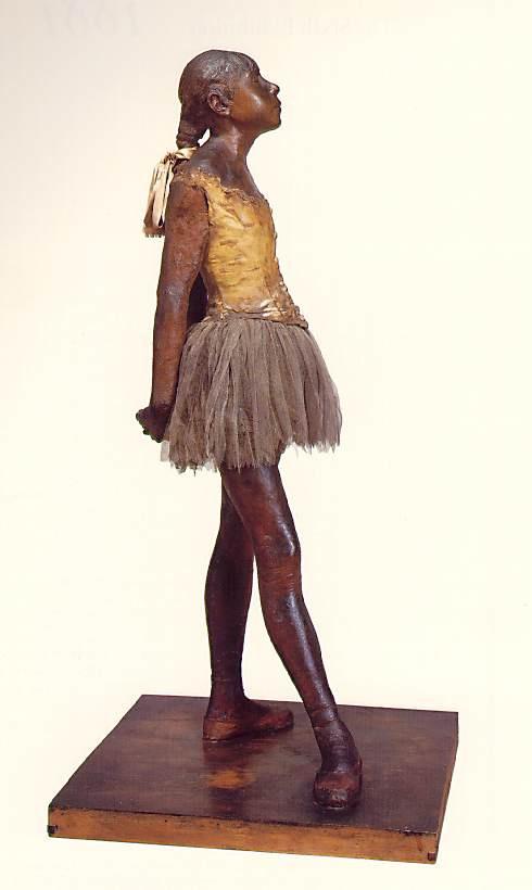 Эдгар Дега. Маленькая четырнадцатилетняя танцовщица