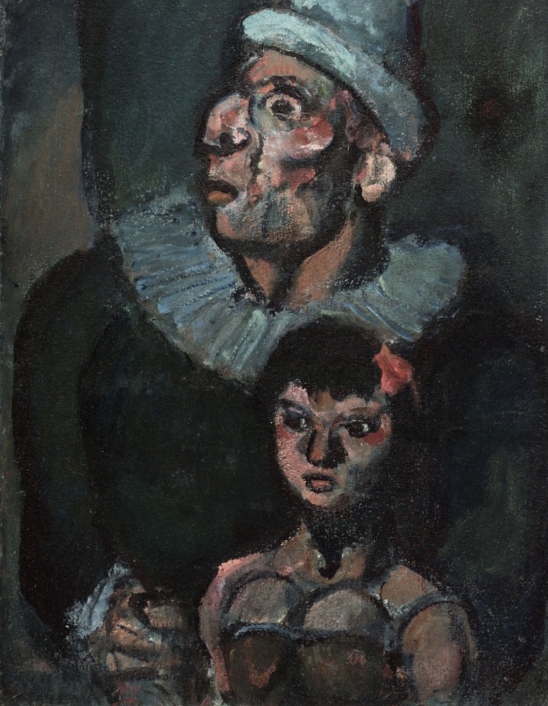 Georges Rouault. In the circus (the Mad clown)