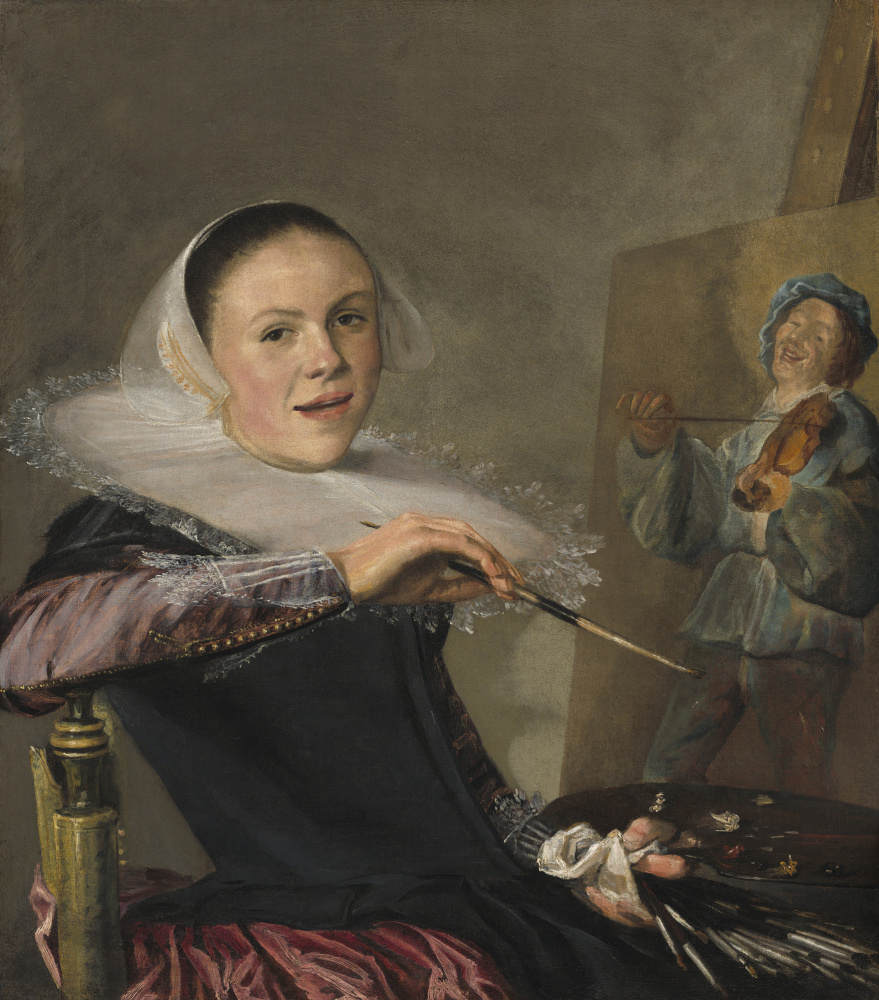 Judith Leyster. Self-portrait