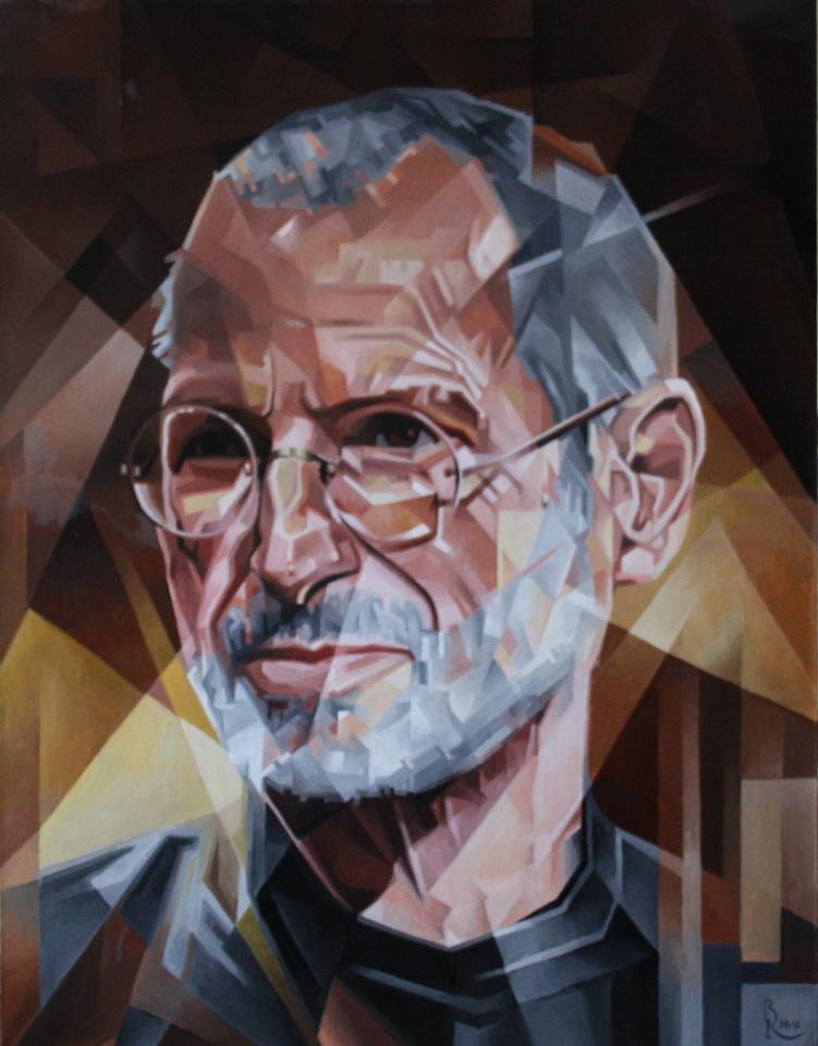 Vasily Krotkov. Steve Jobs. Post-cubutourism