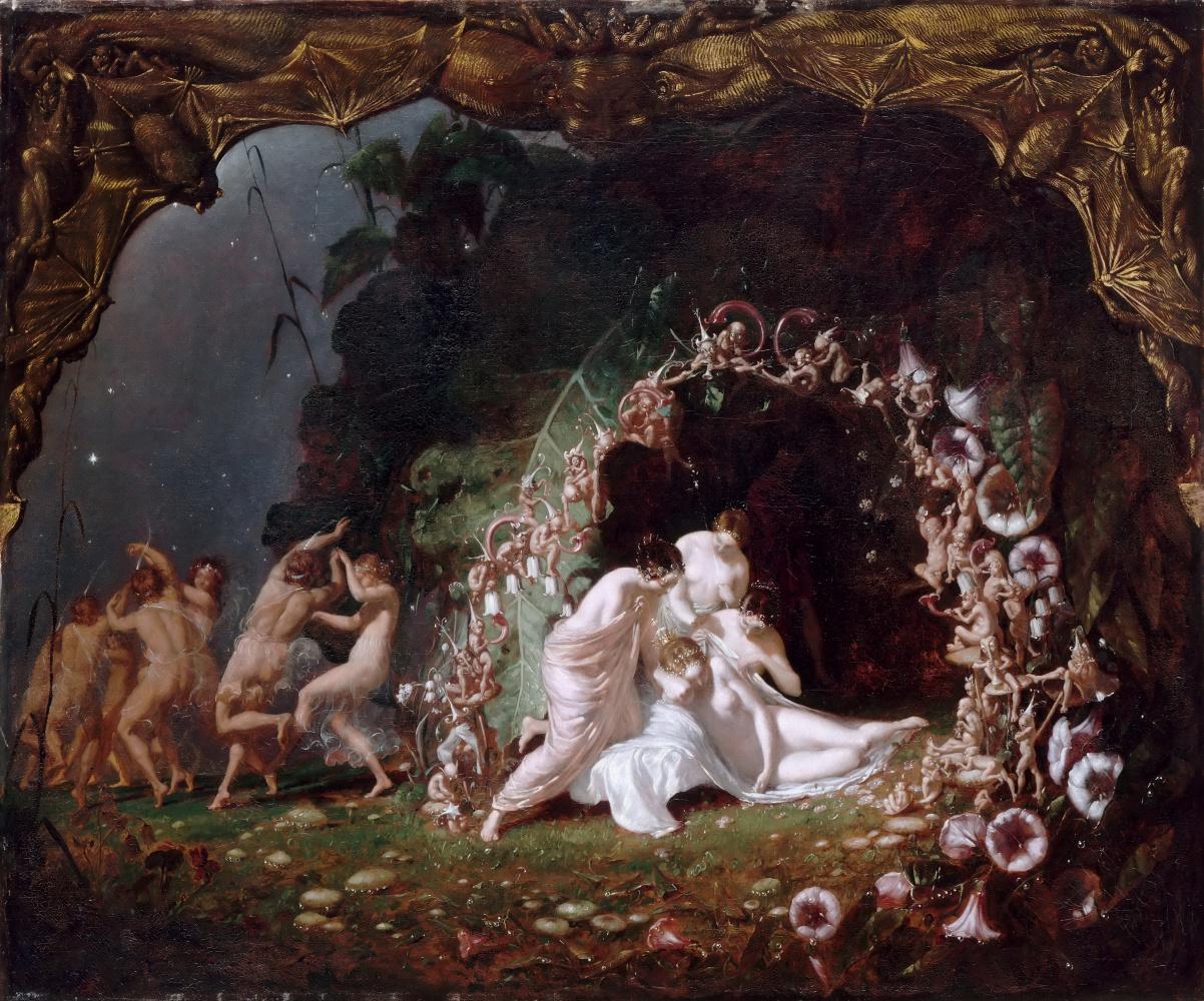 Richard Dudd. Sleeping titania