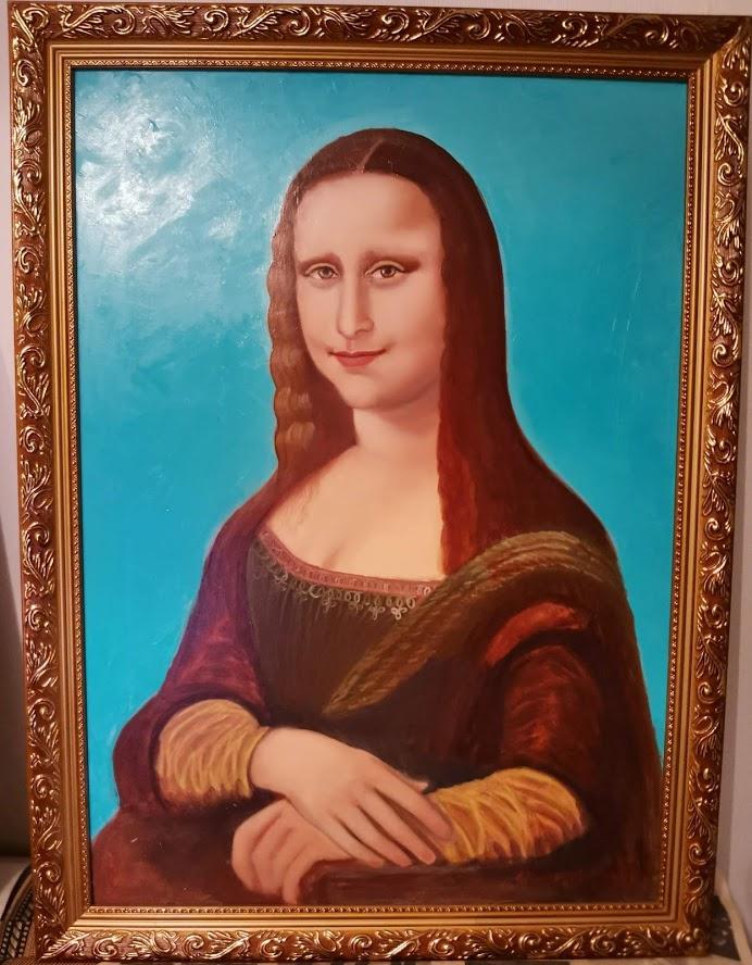 Vyacheslav Kolikcionov. Free copy of Mona Lisa
