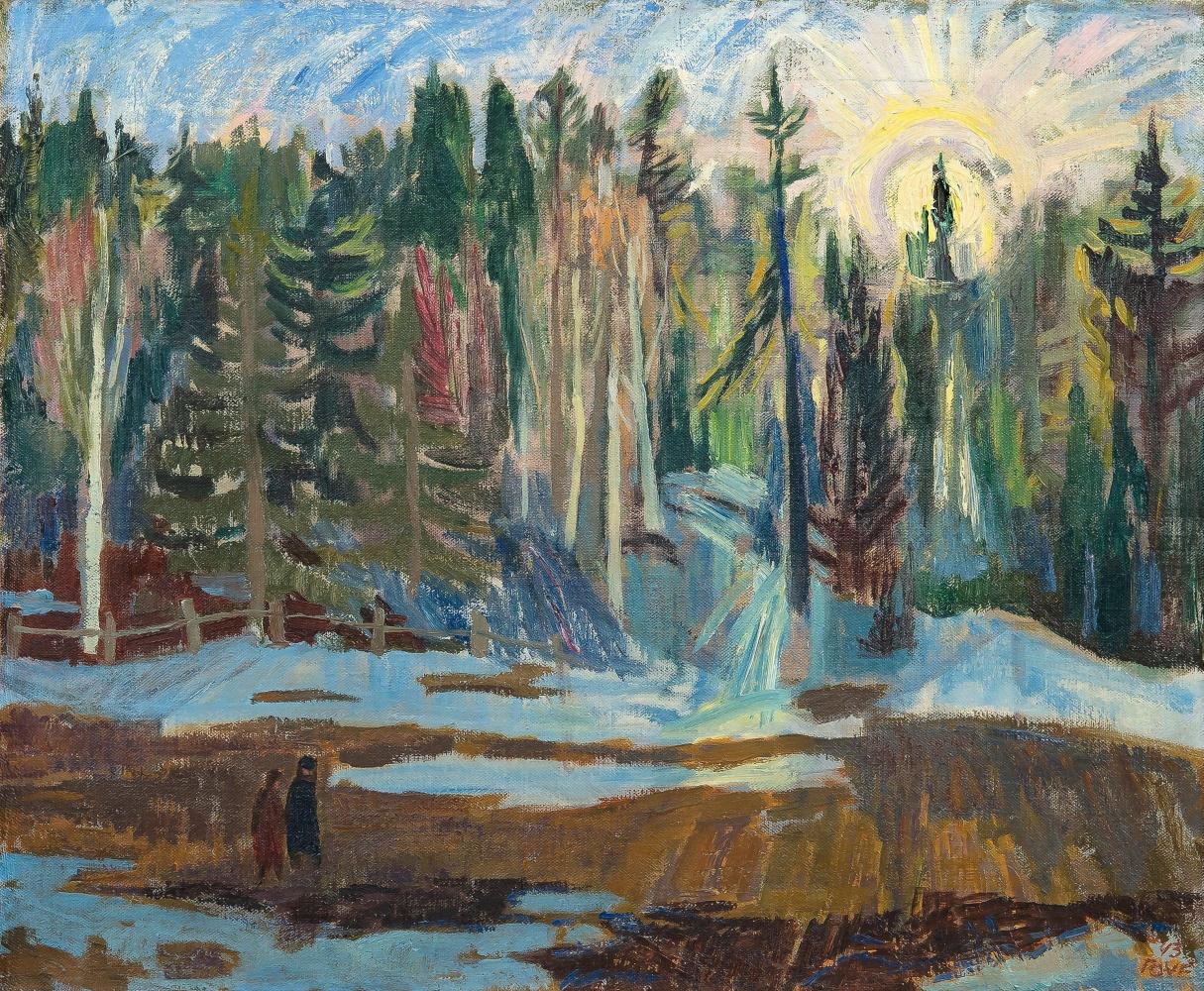 Туве Янссон. Весенний лес
