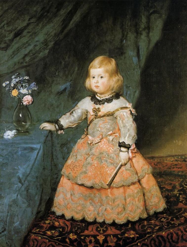 Диего Веласкес. Портрет инфанты Маргариты в розовом платье