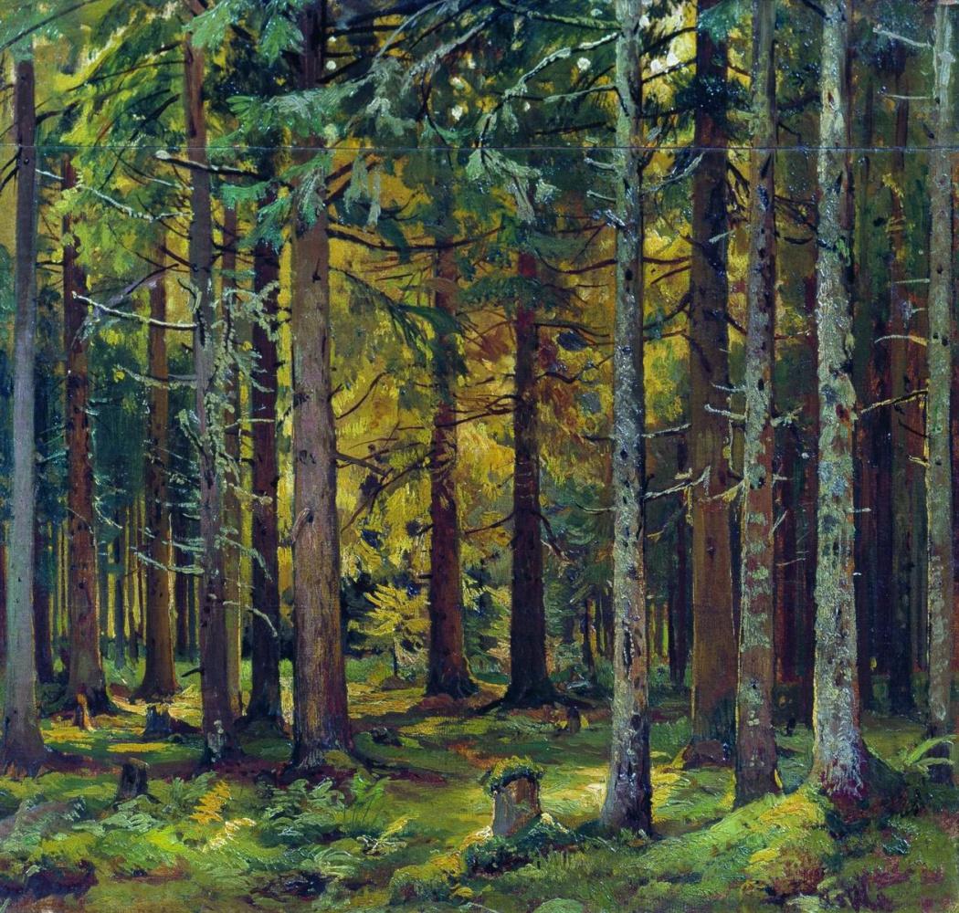 Ivan Shishkin. Spruce forest