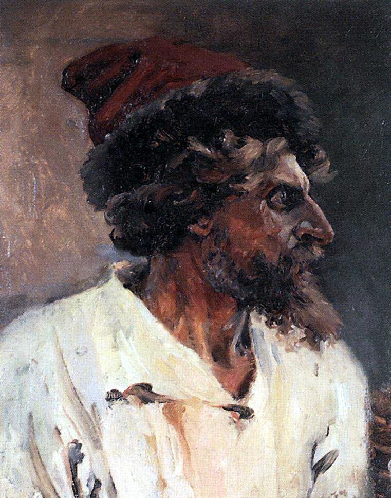 Василий Иванович Суриков. Стрелец в шапке