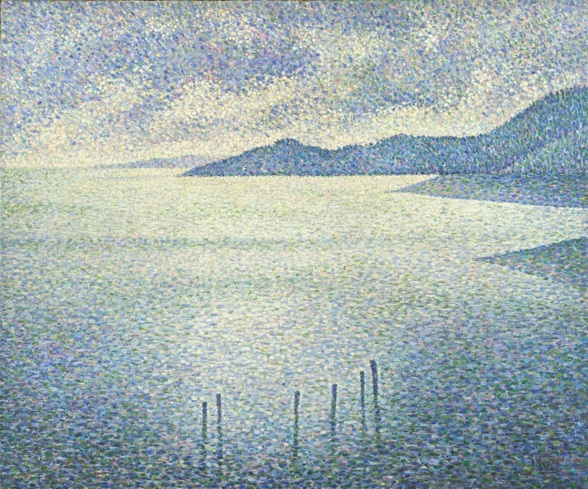 Theo van Rysselberghe. Coastal scene