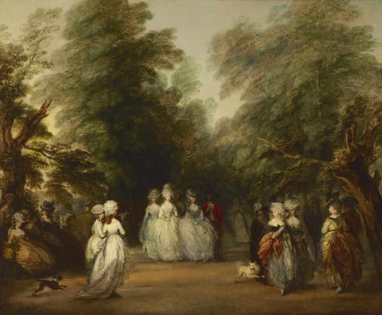 Thomas Gainsborough. A walk in St. James's Park