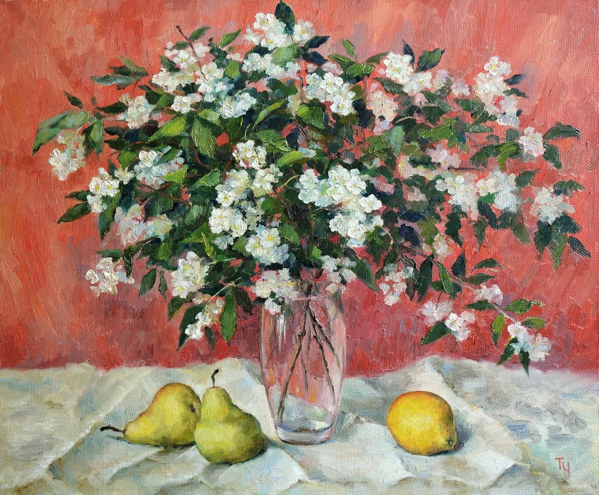 Татьяна Чепкасова. Жасмин и фрукты