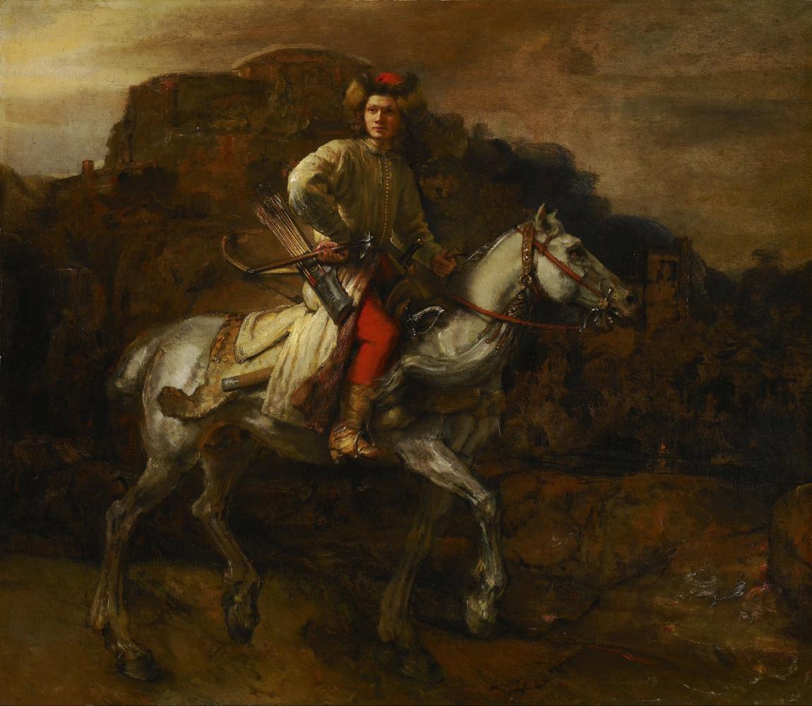 Rembrandt Harmenszoon van Rijn. Polish rider