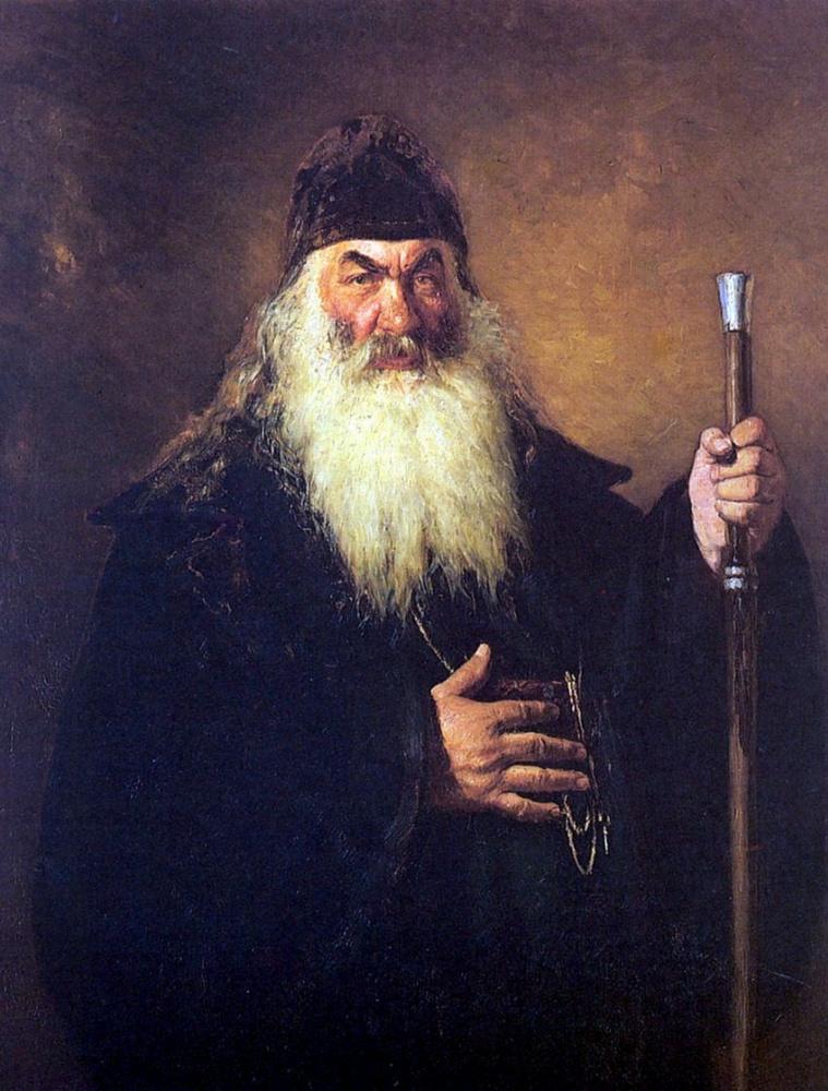 Илья Ефимович Репин. Протодиакон