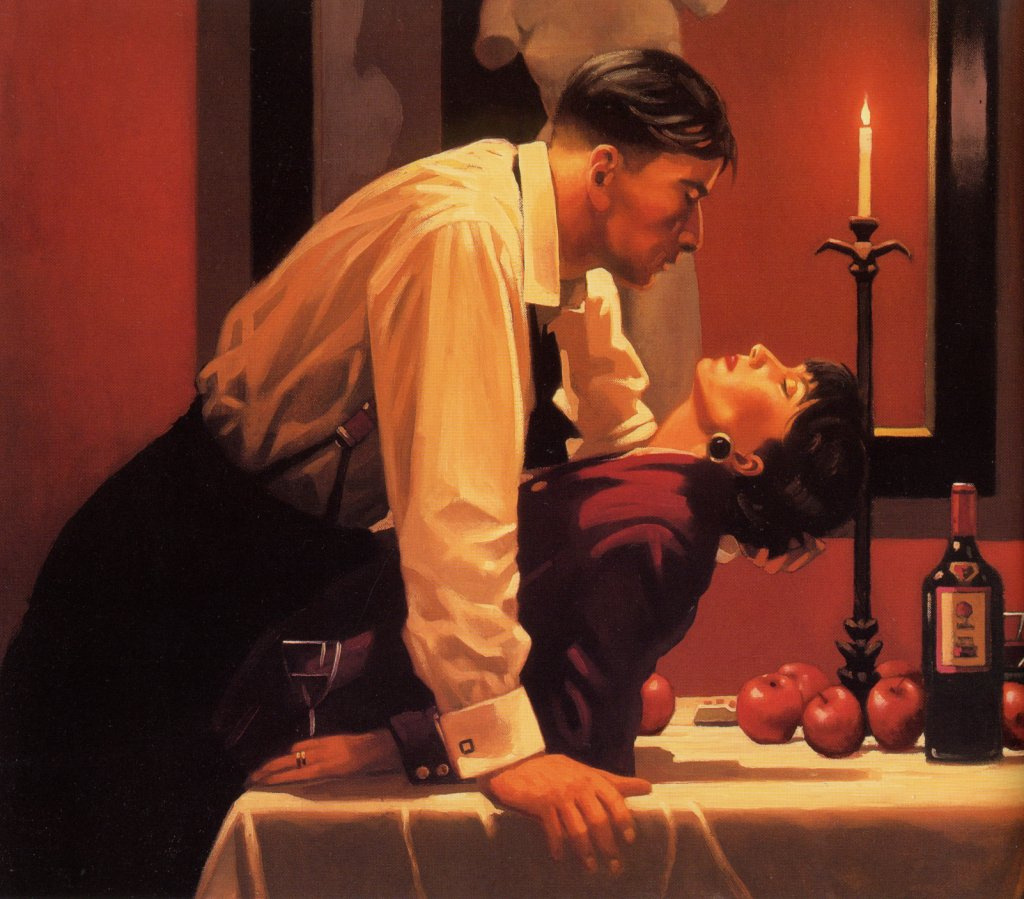 Jack Vettriano. After the party