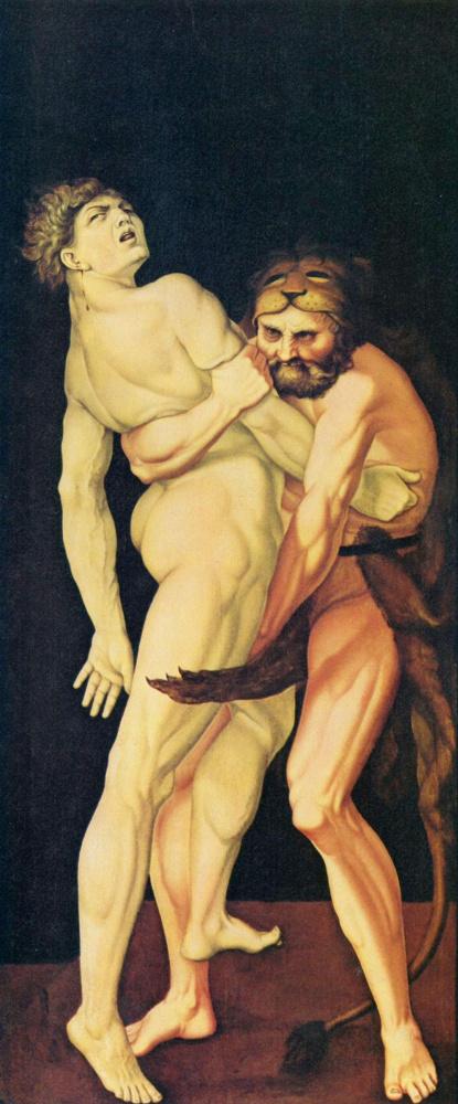 Геракл и Антей