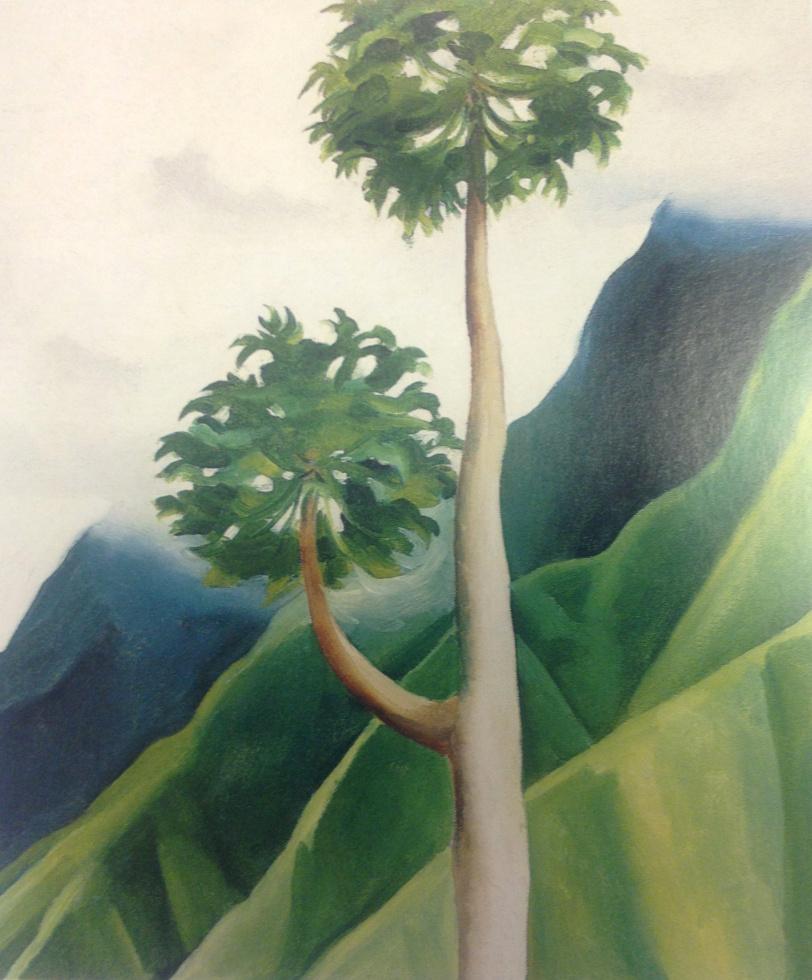 Georgia O'Keeffe. Papaw Tree, Iao Valley, Maui