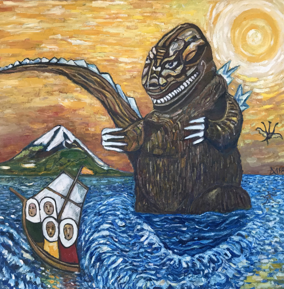 Murad Khalilov. Godzilla