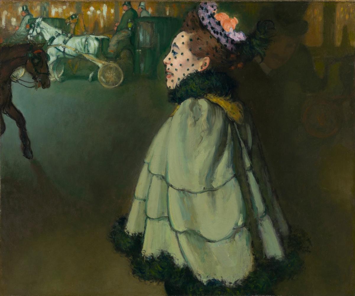 Луи Анкетен. Женщина ночью на Елисейских полях. 1889-1893