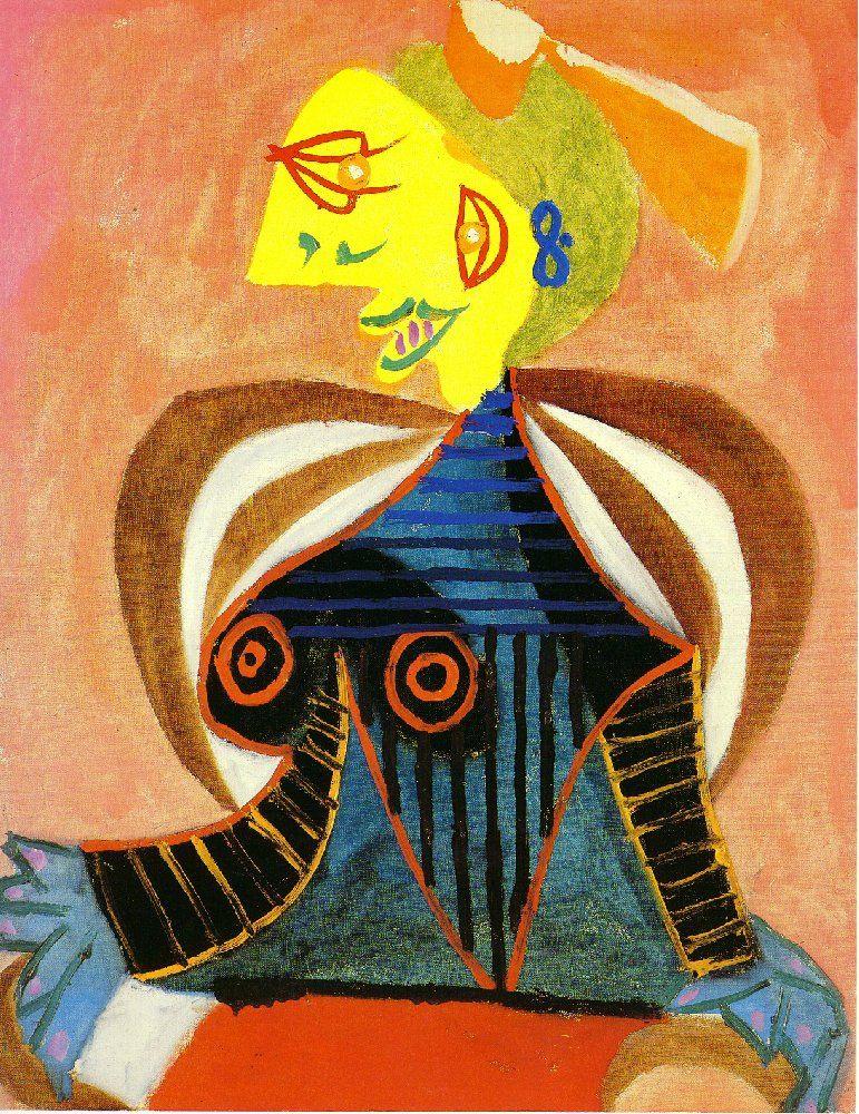Пабло Пикассо. Портрет Ли Миллер (Арлезианка)