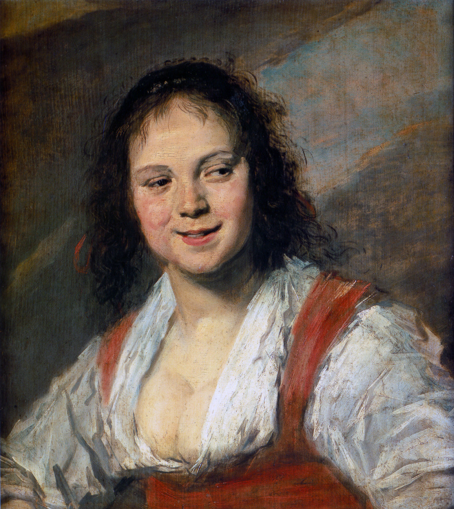 France Hals. The Gypsy Girl