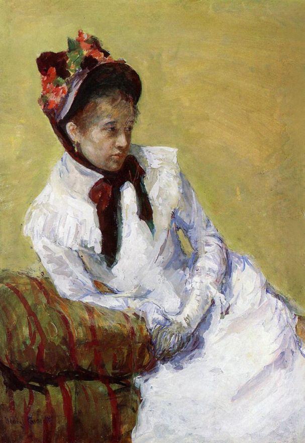 Мэри Кассат. Портрет художницы