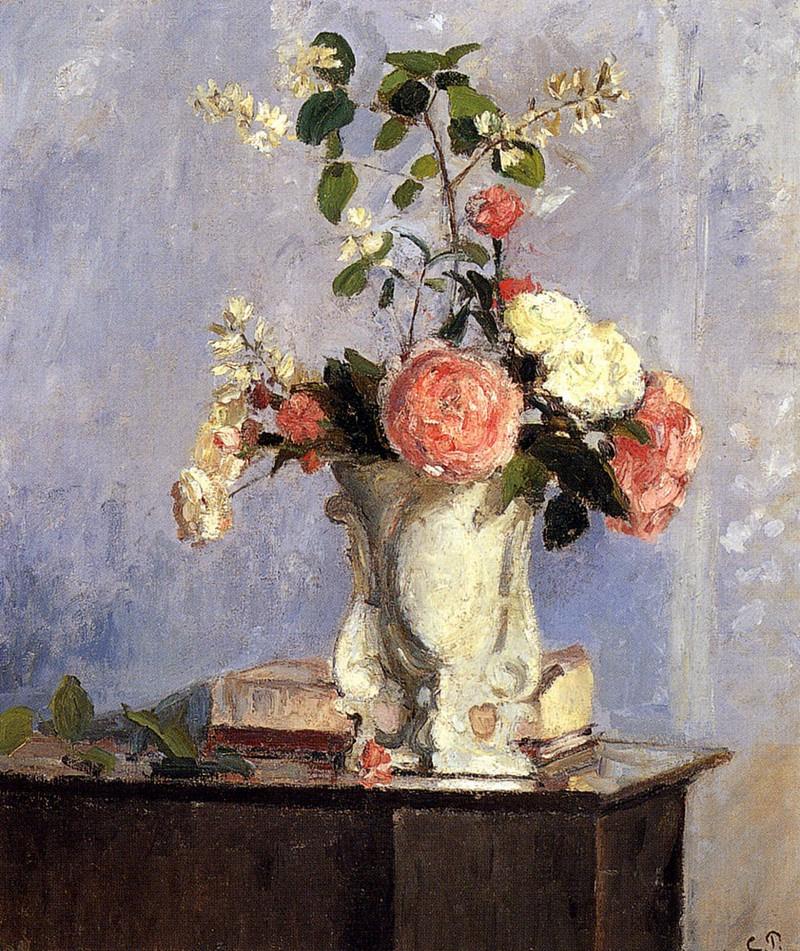 Камиль Писсарро. Букет цветов