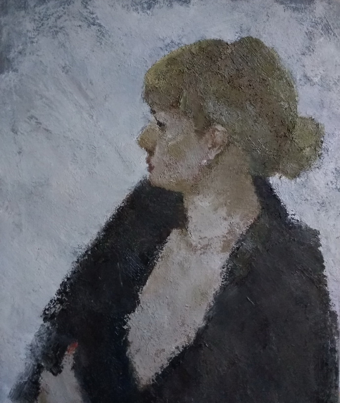 Unknown artist. Portrait C