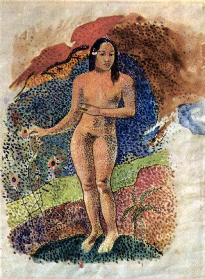 Поль Гоген. Таитянская Ева