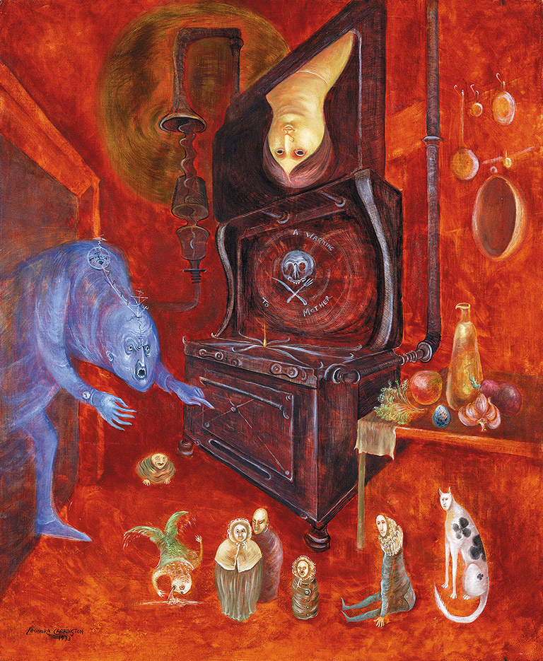 Leonora Carrington. Warning mother