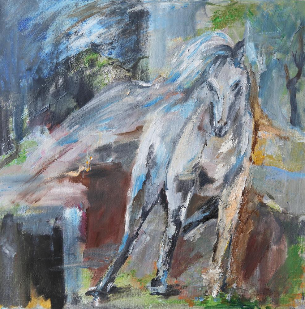 Tatyana Nikolaevna Antonova. Horse